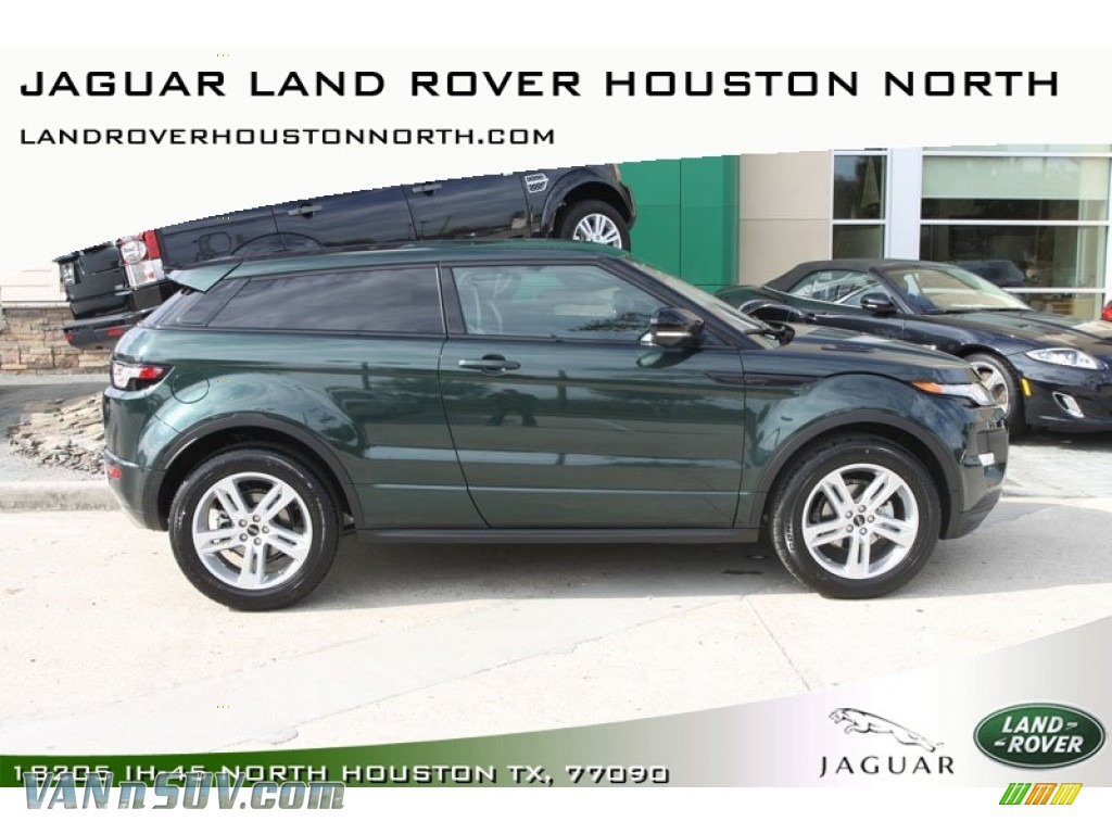 Galway Green Metallic / Dynamic Lunar/Ivory Land Rover Range Rover Evoque  Coupe Dynamic