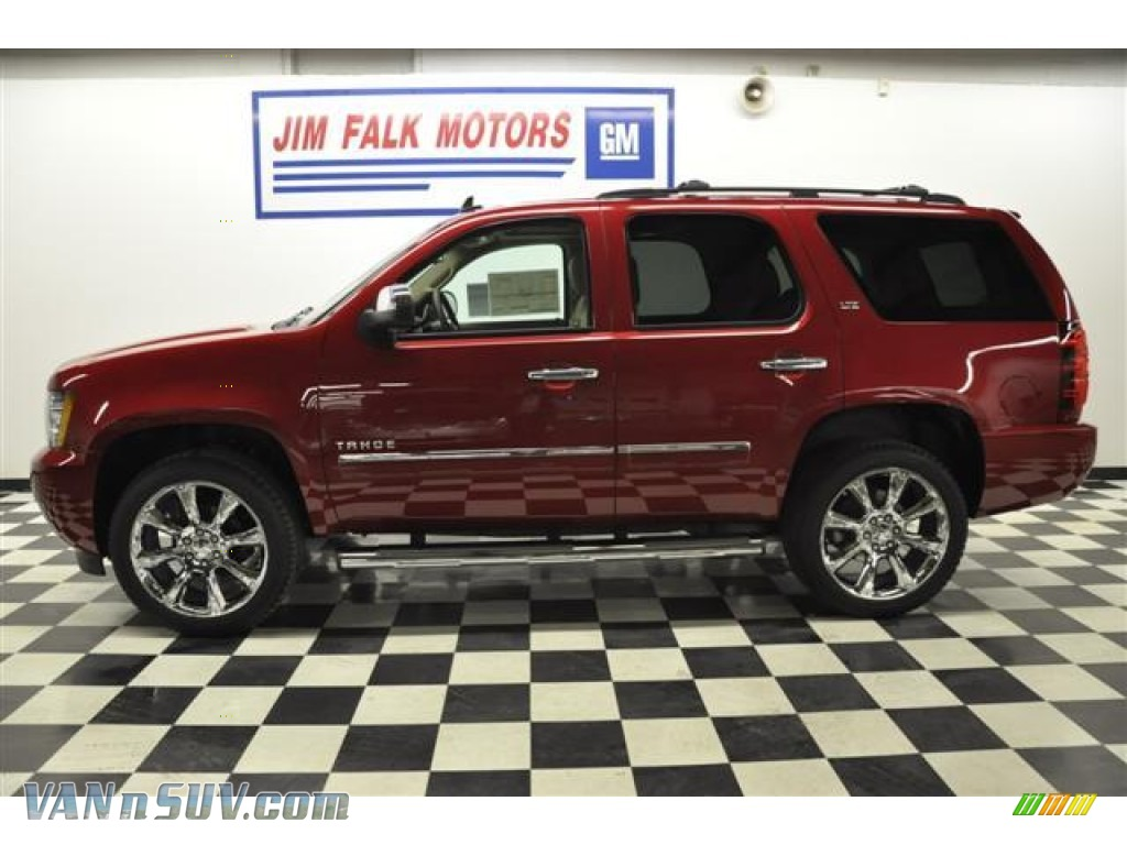 2012 chevrolet tahoe ltz 4x4 in crystal red tintcoat photo 2 189120 vans and. Black Bedroom Furniture Sets. Home Design Ideas