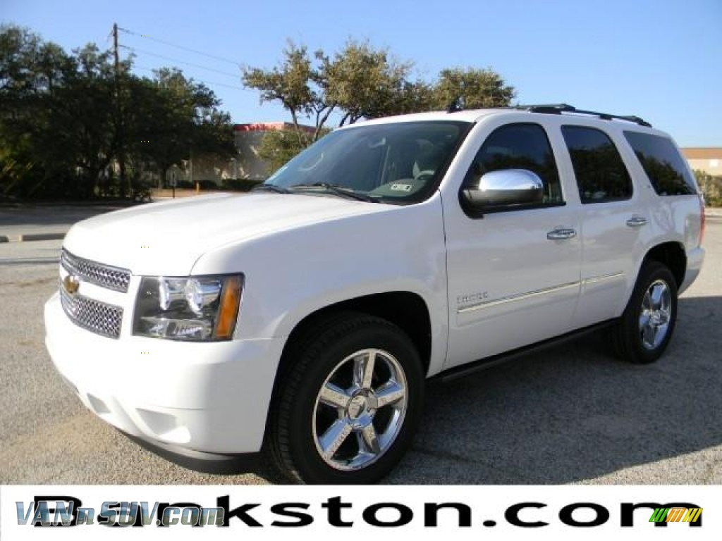 2011 chevrolet tahoe ltz in summit white 387506 vans and suvs for sale in the us. Black Bedroom Furniture Sets. Home Design Ideas
