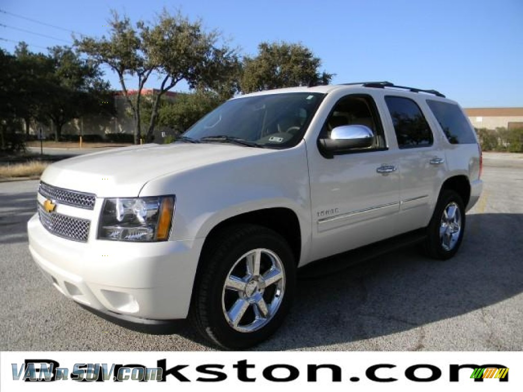 2012 chevrolet tahoe ltz in white diamond tricoat 135164 vans and suvs for. Black Bedroom Furniture Sets. Home Design Ideas