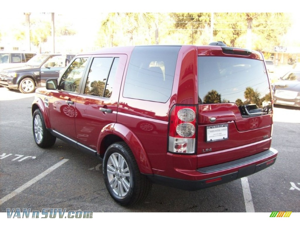 2012 land rover lr4 hse in firenze red metallic photo 4 for Baker motor company land rover