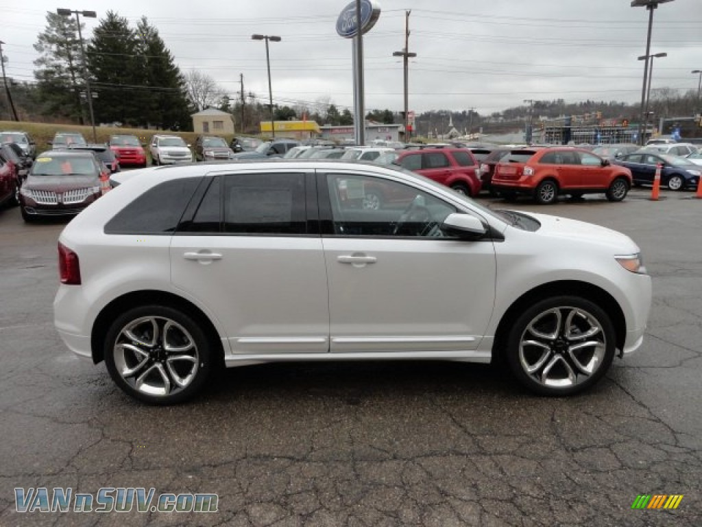2012 ford edge sport awd in white platinum metallic tri coat photo 5 a79000 vannsuv com