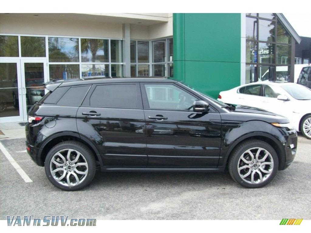2012 Land Rover Range Rover Evoque Dynamic In Barolo Black