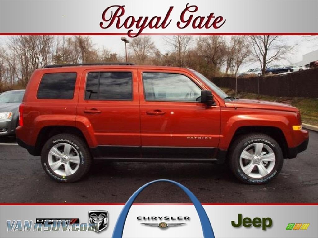 2012 jeep patriot sport 4x4 in copperhead orange pearl for Royal chrysler motors inc
