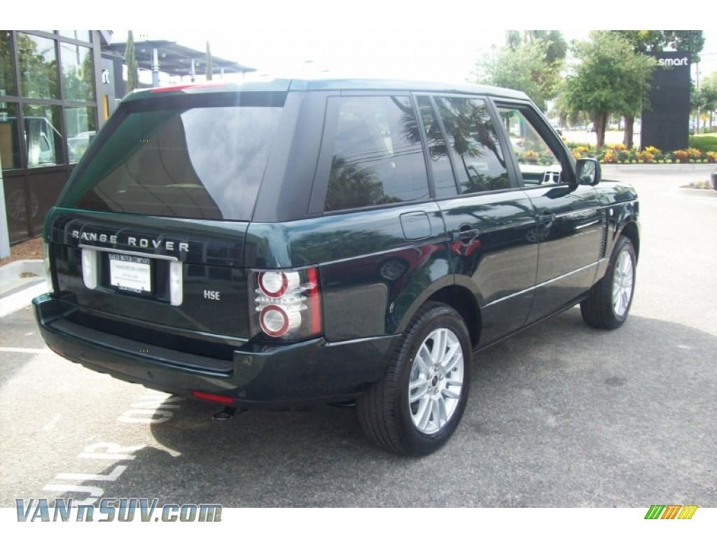 2012 land rover range rover hse in aintree green metallic for Baker motor company land rover