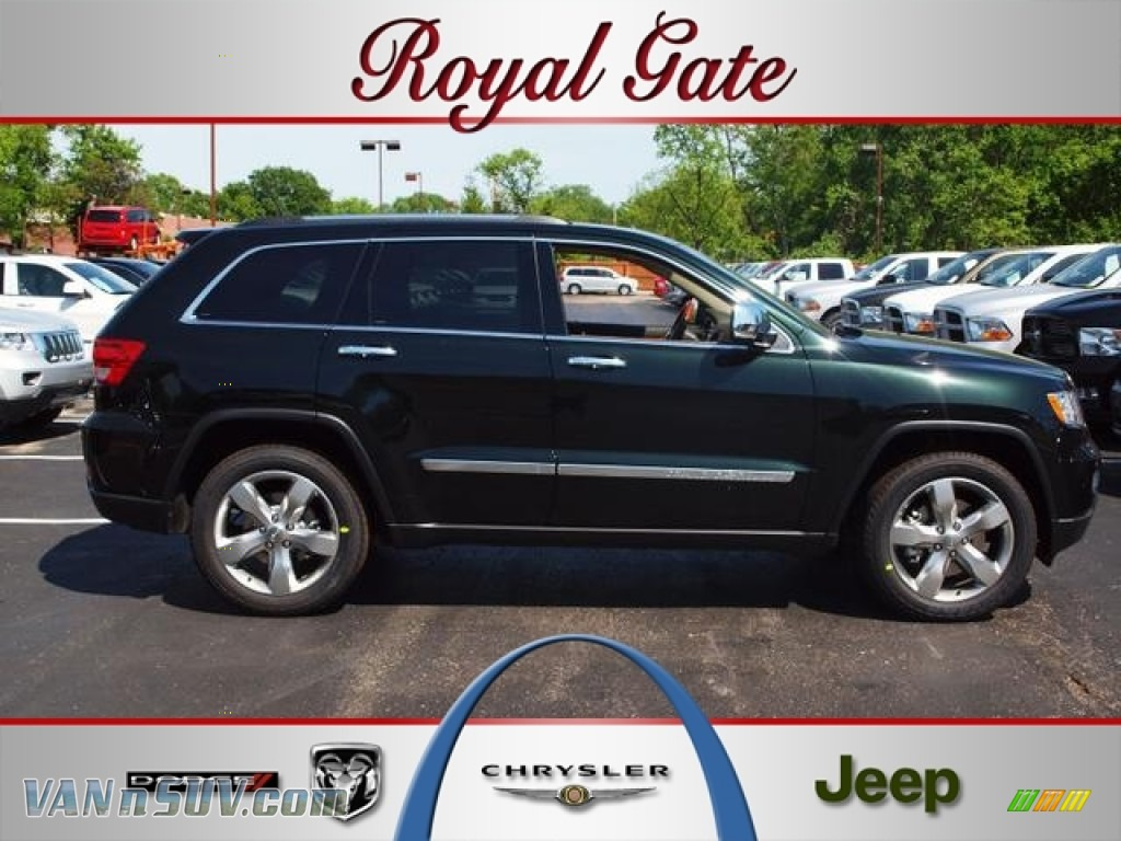 2012 jeep grand cherokee overland 4x4 in black forest for Royal chrysler motors inc