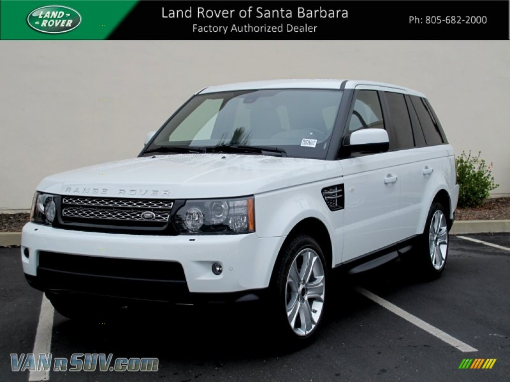 2012 Land Rover Range Rover Sport HSE LUX in Fuji White  746689