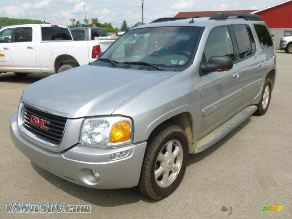 2004 gmc envoy xl sle 4x4 in liquid silver metallic. Black Bedroom Furniture Sets. Home Design Ideas