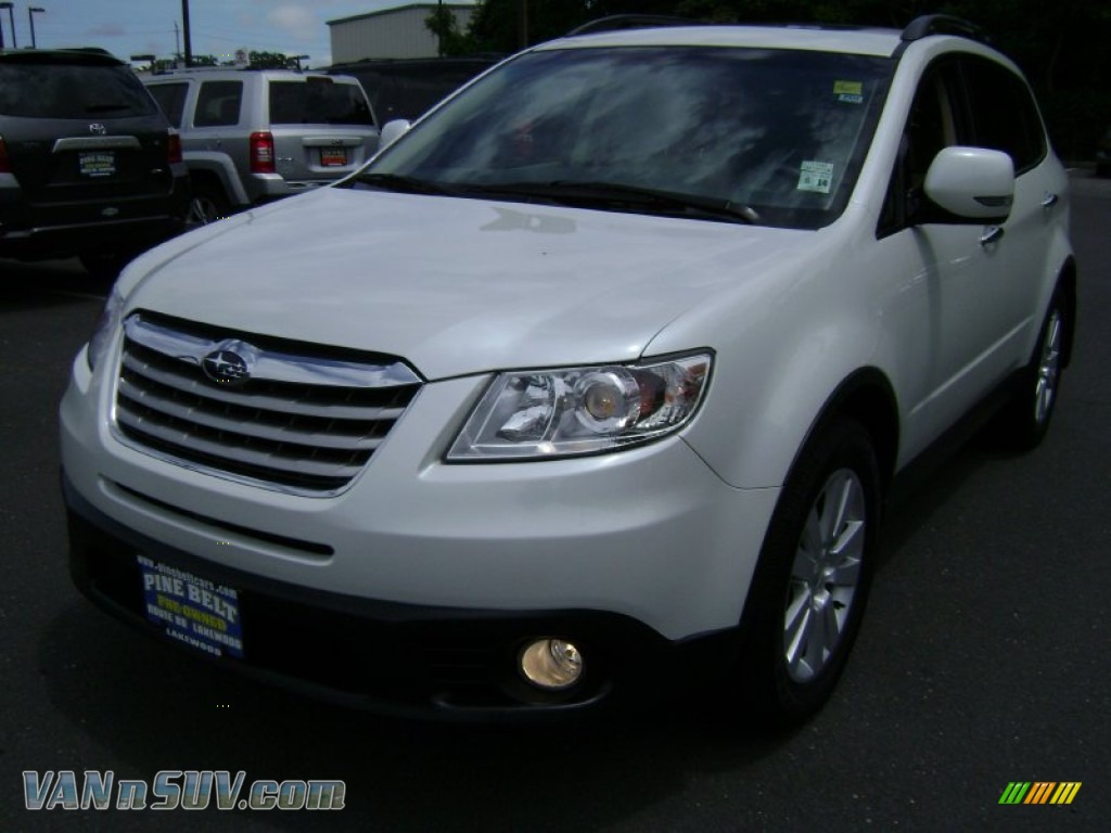 2010 subaru tribeca 3 6r limited in satin white pearl. Black Bedroom Furniture Sets. Home Design Ideas