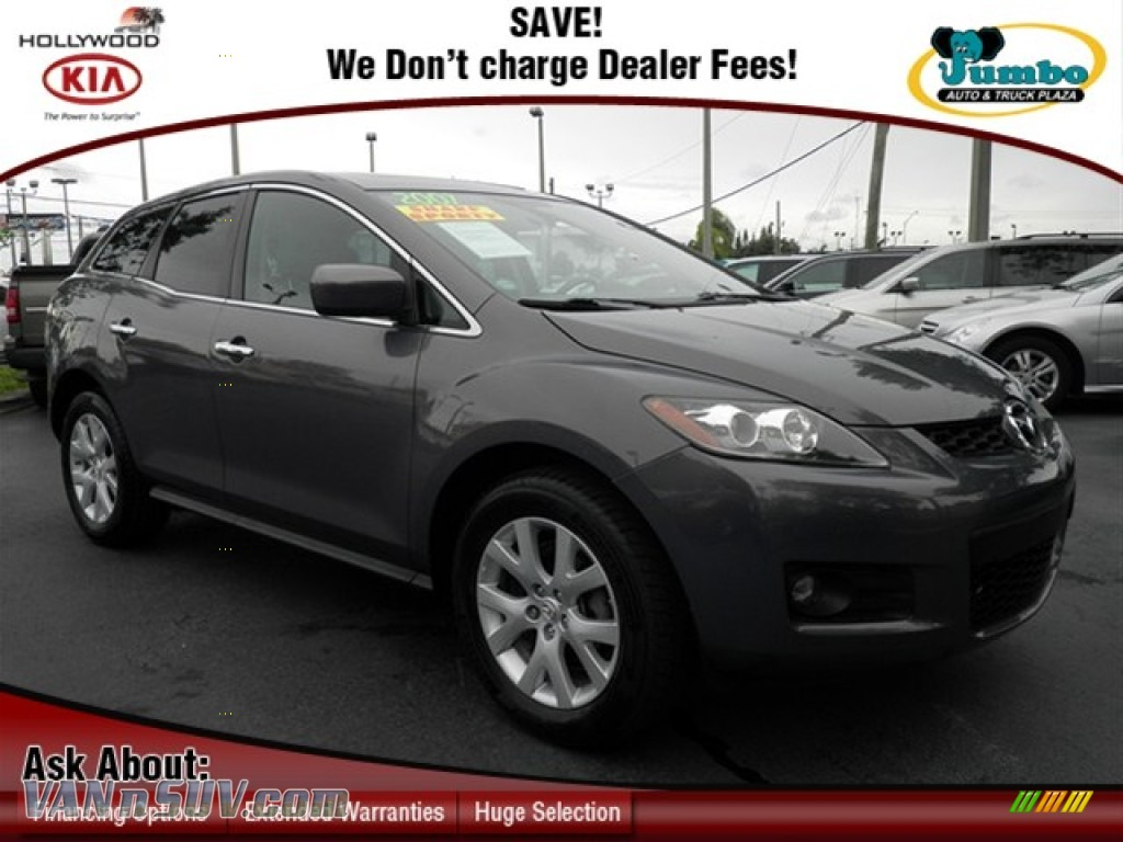 2007 mazda cx 7 grand touring in galaxy gray mica 101832 vans and suvs for. Black Bedroom Furniture Sets. Home Design Ideas