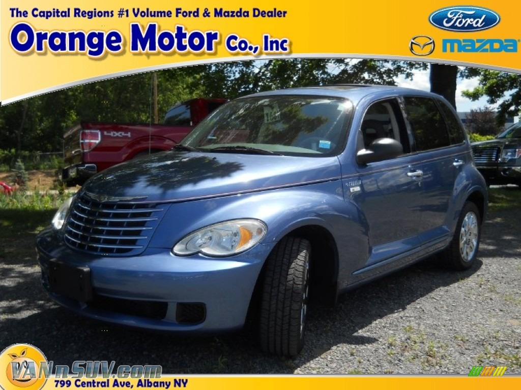 2006 chrysler pt cruiser touring in marine blue pearl for Orange motors albany new york