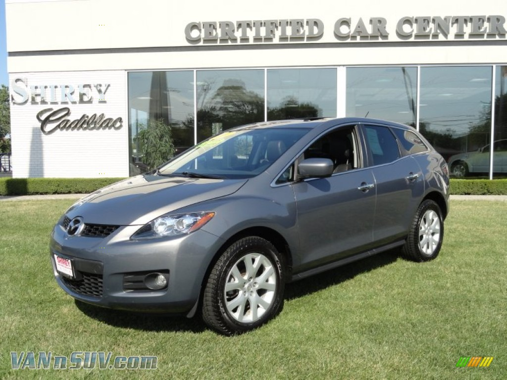 2007 mazda cx 7 grand touring in galaxy gray mica 162413 vans and suvs for. Black Bedroom Furniture Sets. Home Design Ideas