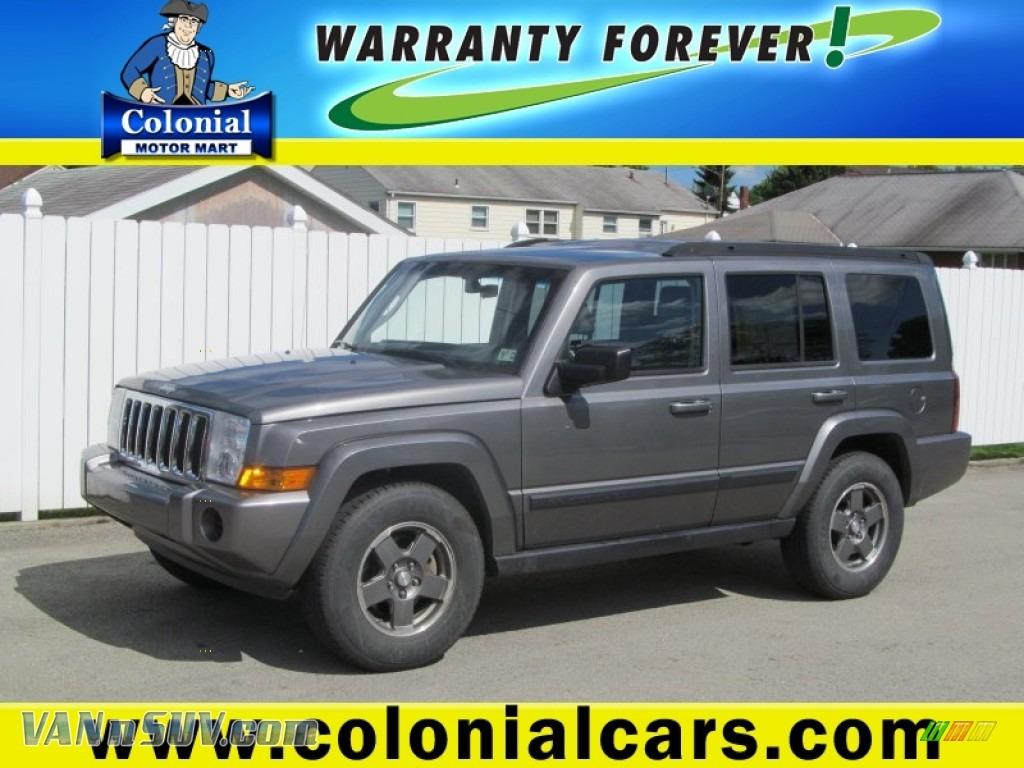 2007 Jeep Commander Sport 4x4 In Mineral Gray Metallic