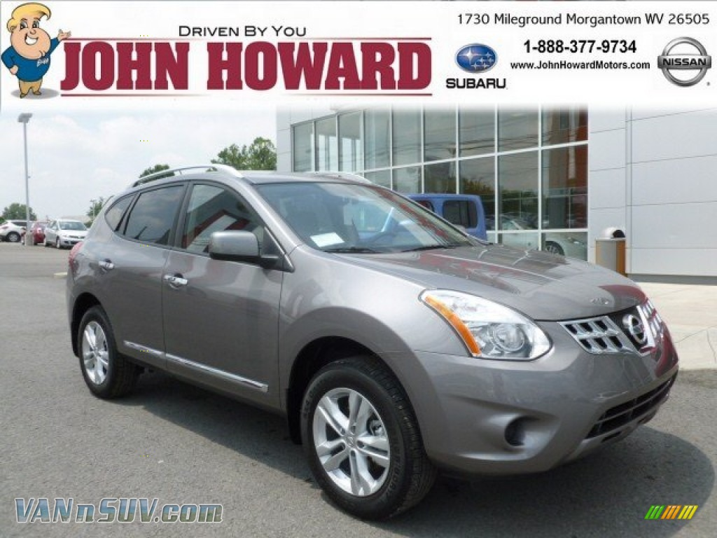 2012 Nissan Rogue Sv Awd In Platinum Graphite Photo 15