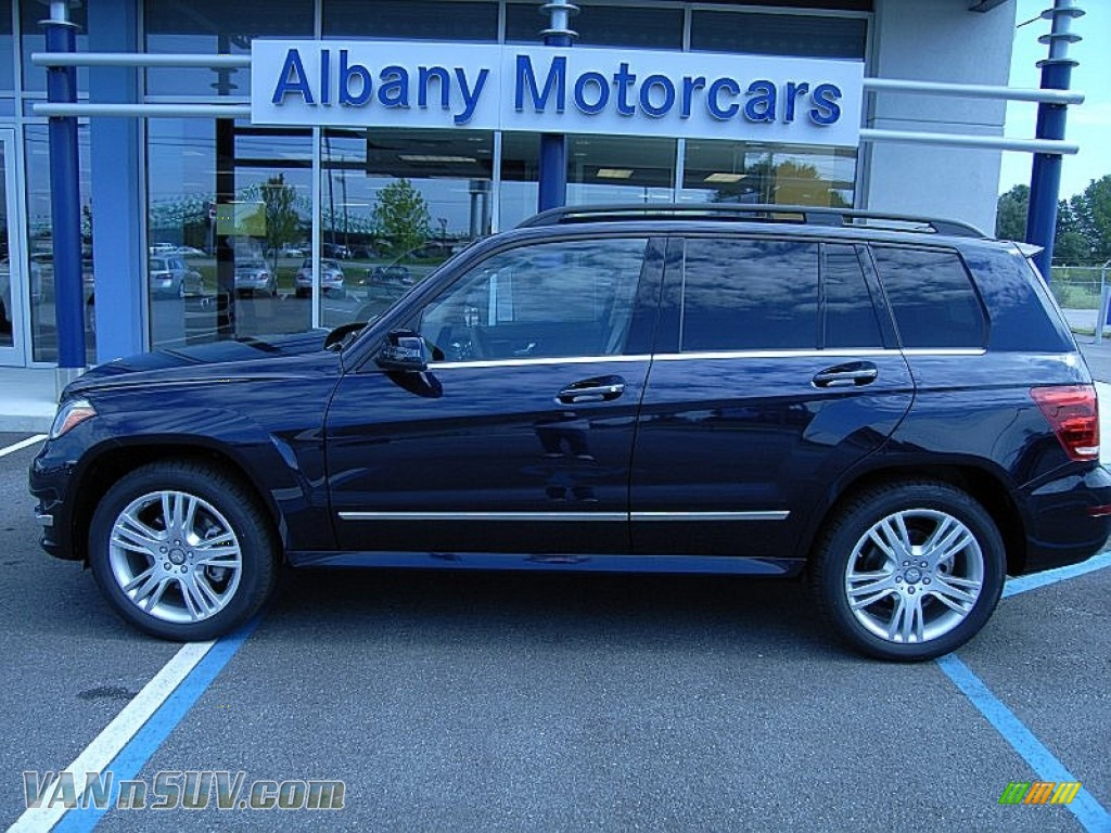 2013 GLK 350 - Lunar Blue Metallic / Almond/Mocha photo #1