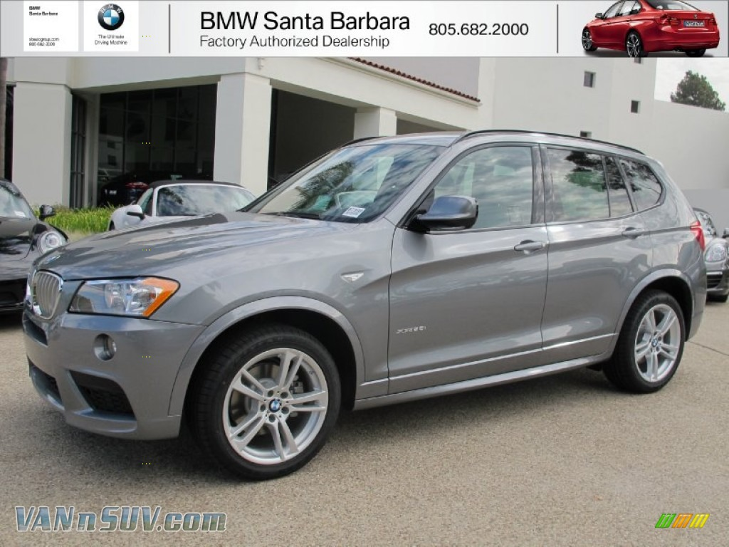 2013 Bmw X3 Xdrive 28i In Space Gray Metallic A17757