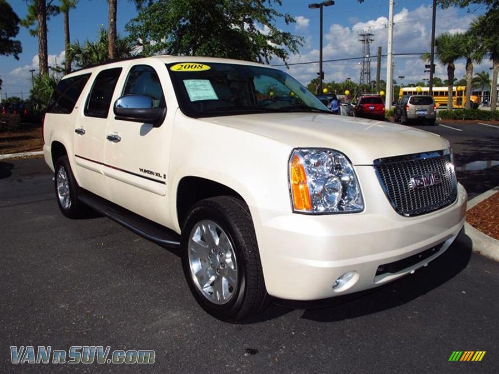 2008 gmc yukon xl slt 4x4 in white diamond tricoat. Black Bedroom Furniture Sets. Home Design Ideas