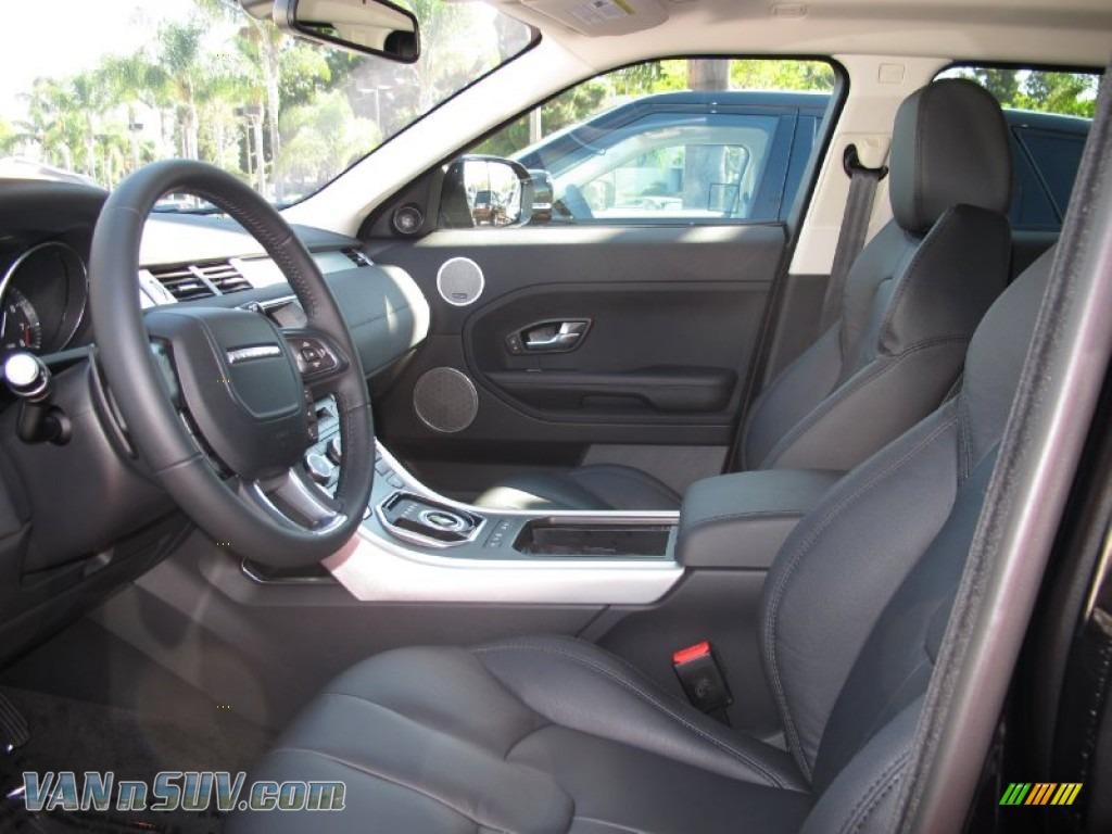 2012 Land Rover Range Rover Evoque Pure In Barolo Black Premium Metallic Photo 5 695479