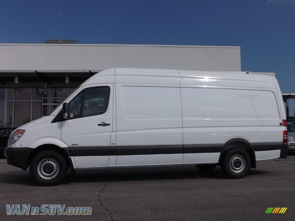 2012 mercedes benz sprinter 2500 high roof extended cargo for Mercedes benz sprinter cargo van for sale