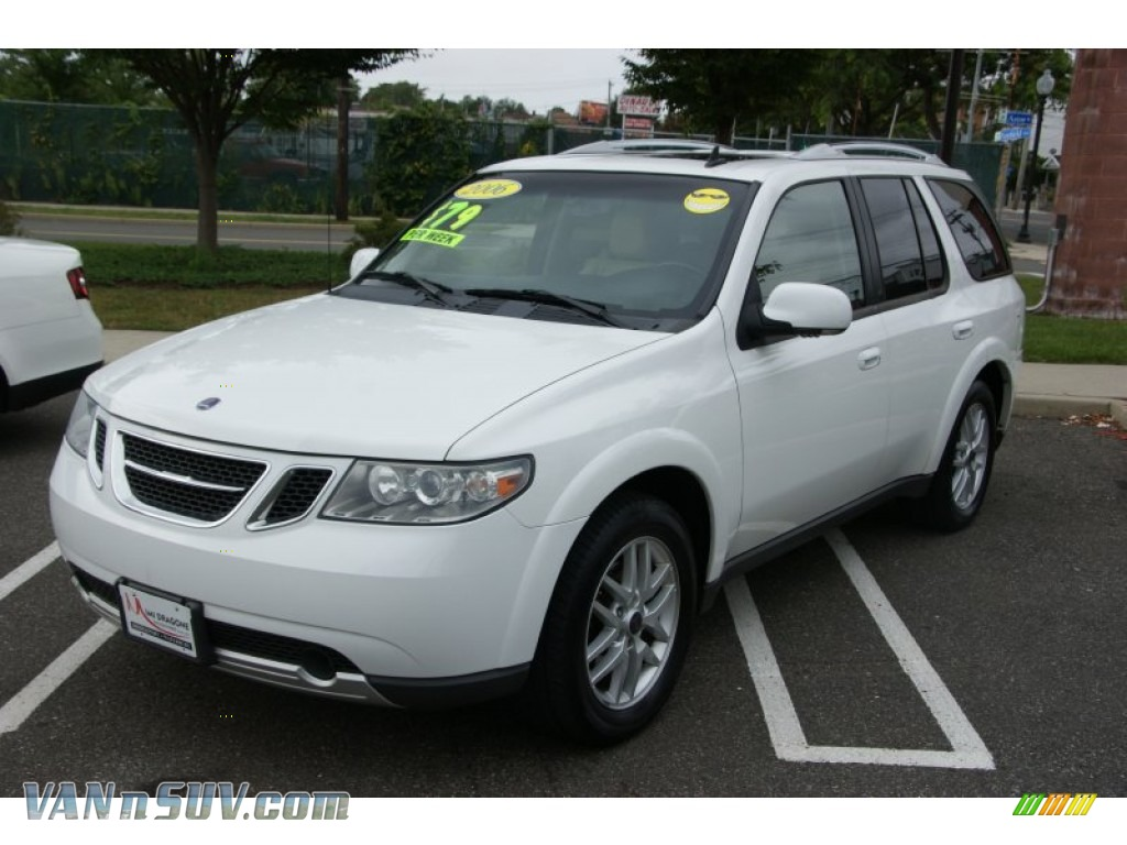2006 saab 9 7x in winter white 805794 vans and suvs for sale in the us. Black Bedroom Furniture Sets. Home Design Ideas