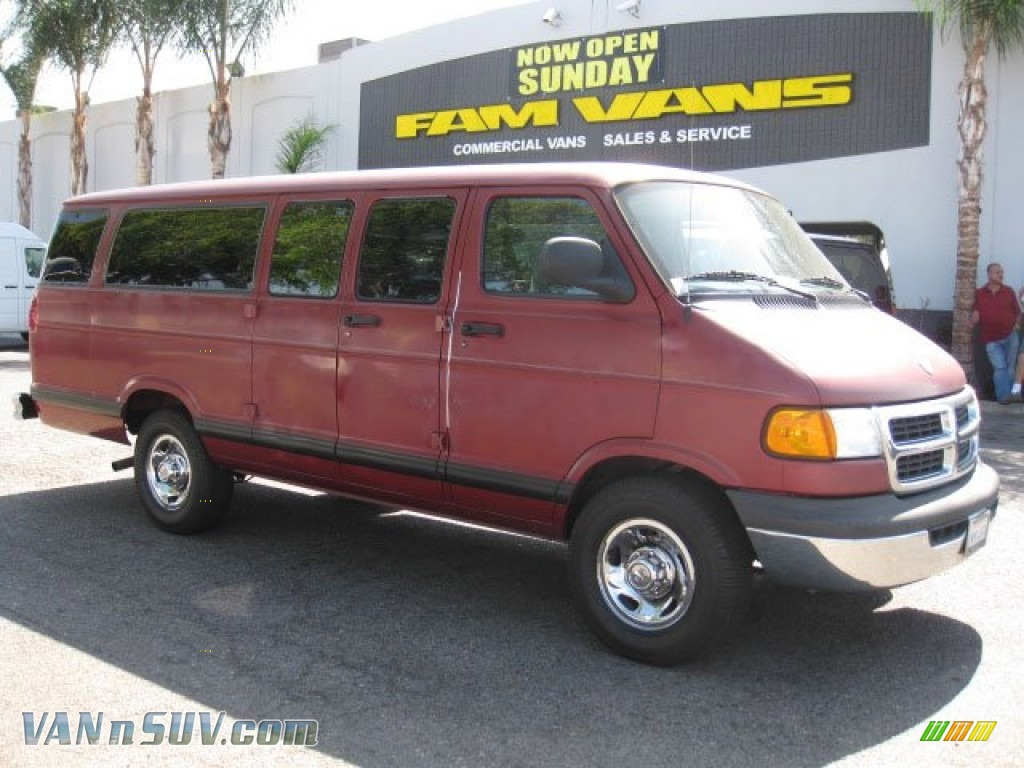 1998 dodge ram van 3500 extended in medium red metallic for Steve white motors inc