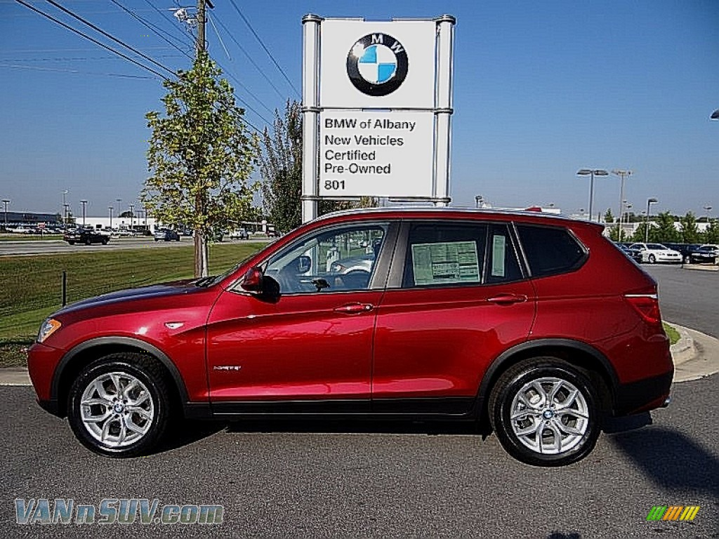 2013 bmw x3 xdrive 35i in vermillion red metallic 980825 vans and suvs for. Black Bedroom Furniture Sets. Home Design Ideas