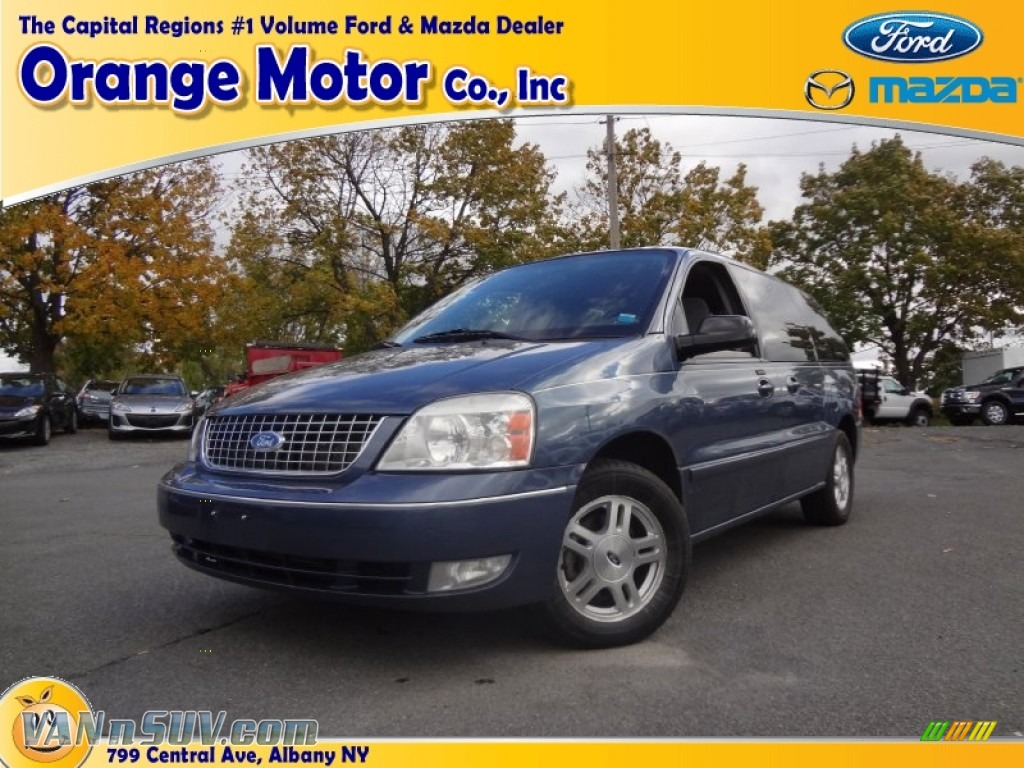 2006 ford freestar sel in norsea blue metallic a33168 for Orange motors albany new york