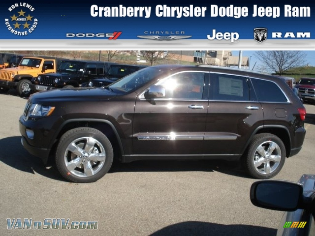2013 Jeep Grand Cherokee Overland Summit 4x4 In Rugged