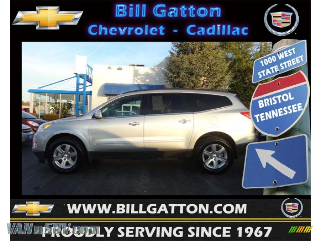 2012 chevrolet traverse lt awd in silver ice metallic 178763 vans and suvs for. Black Bedroom Furniture Sets. Home Design Ideas