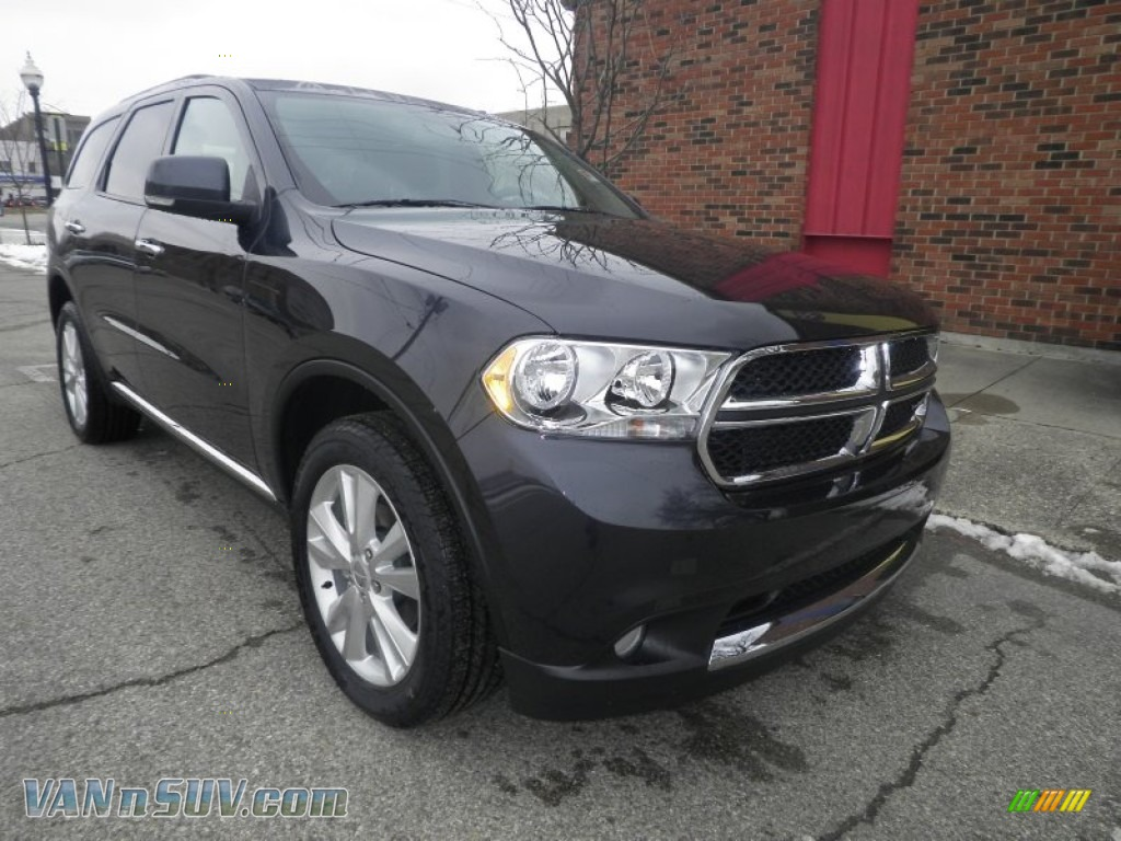 2013 Dodge Durango Crew Awd In Maximum Steel Metallic