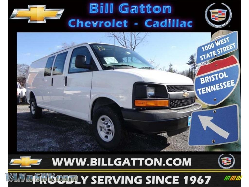 2013 chevrolet express 2500 cargo van in summit white for Bill gatton honda bristol tn