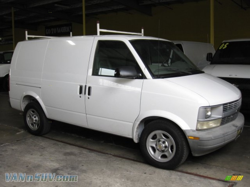 2005 chevrolet astro cargo van in summit white 107487 vans and suvs for sale. Black Bedroom Furniture Sets. Home Design Ideas