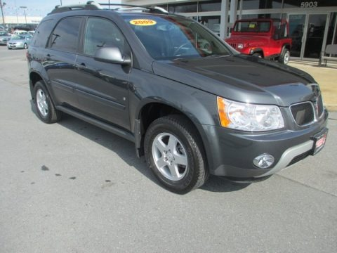 Cyber Gray Metallic 2009 Pontiac Torrent AWD