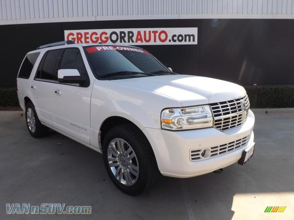 2011 Lincoln Navigator Limited Edition In White Platinum