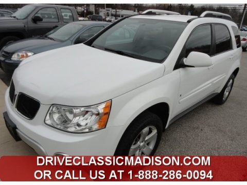 Bright White 2007 Pontiac Torrent