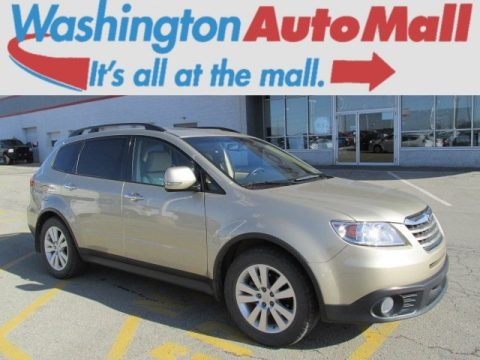 Harvest Gold Metallic 2008 Subaru Tribeca Limited 5 Passenger