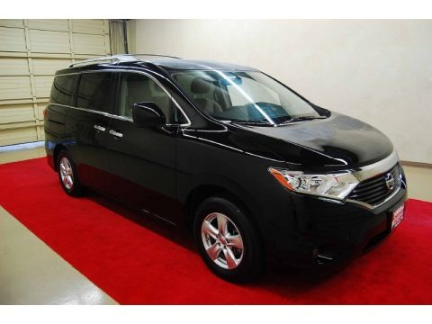 Super Black 2012 Nissan Quest 3.5 SV