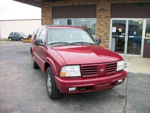 Medium Red Metallic 1998 Oldsmobile Bravada AWD