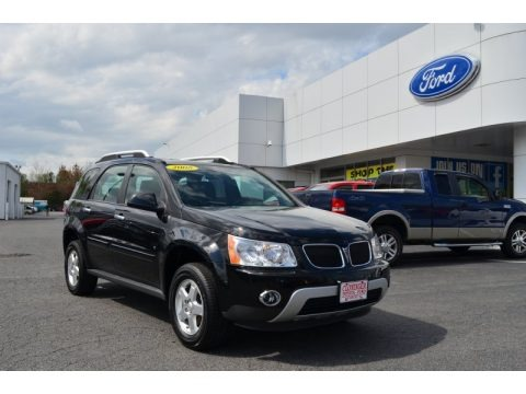Black 2008 Pontiac Torrent AWD