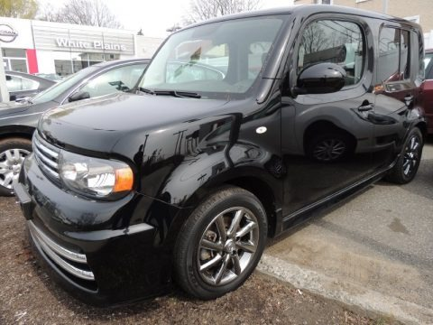 Super Black 2009 Nissan Cube Krom Edition
