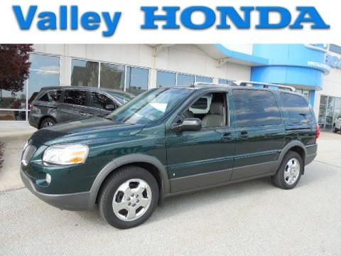 Emerald Green Metallic 2006 Pontiac Montana SV6 AWD