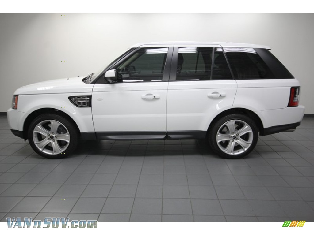 2012 land rover range rover sport supercharged in fuji white photo 2 722648. Black Bedroom Furniture Sets. Home Design Ideas
