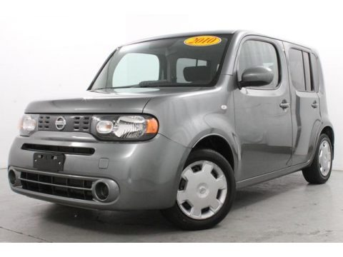 Steel Gray Pearl Metallic 2010 Nissan Cube 1.8 S