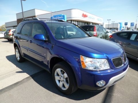 Blue Streak Metallic 2006 Pontiac Torrent AWD