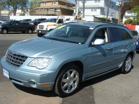 Clearwater Blue Pearlcoat 2008 Chrysler Pacifica Touring AWD