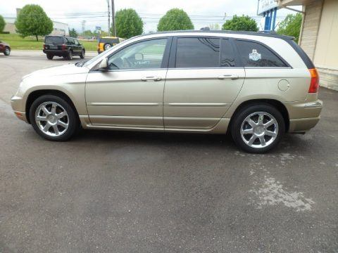 Linen Gold Metallic Pearl 2007 Chrysler Pacifica Limited
