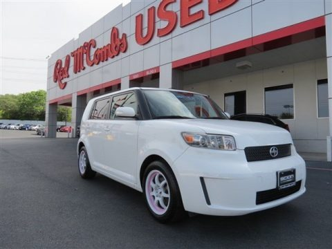Super White 2010 Scion xB 