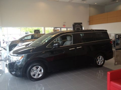 Super Black 2013 Nissan Quest 3.5 SV