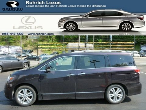 Black Amethyst 2011 Nissan Quest 3.5 SL