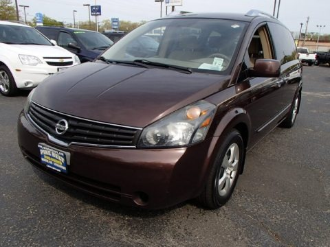 Chestnut Metallic 2007 Nissan Quest 3.5 S